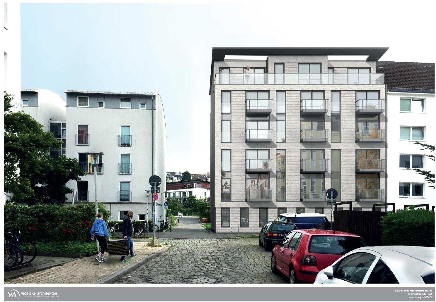 Wohnträume schaffen / Mietwohnungs-Neubau in der Bremerstraße 26, Kiel (ALLE WOHNUNGEN BEREITS VERGEBEN!)🆕🏰